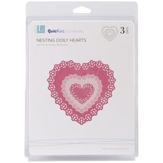 Lifestyle Crafts Nesting Dies Doily Hearts