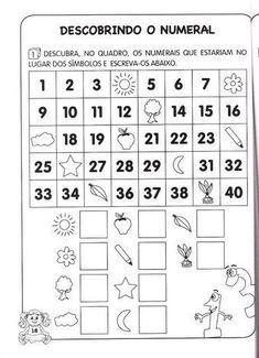 Ensinando com Carinho: Atividades 1º ano Matemática