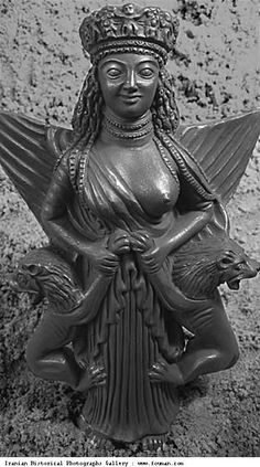 Anahita - Persian Mythology Fertility Goddess