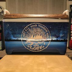 5 Steps to Creating the Best Formal Cooler Ever Sorority Canvas, Sorority Paddles, Sorority Crafts, Sorority Life, Sorority Recruitment, Diy Cooler, Coolest Cooler, Fraternity Coolers, Frat Coolers