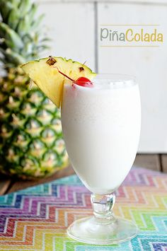 If You Like Piña Coladas {Perfect Piña Colada Recipe} - Dine and Dish-If you like Piña Coladas, getting caught in the rain. then you will love this perfect Piña Colada cocktail recipe and photos from a Regal Princess cruise. Cocktails Bar, Party Drinks, Cocktail Drinks, Fun Drinks, Yummy Drinks, Cocktail Recipes, Beverages, Beach Drinks, Perfect Pina Colada Recipe