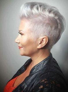 22 Ideas for hairstyles women short quiff Pixie Hairstyles, Short Hairstyles For Women, Cool Hairstyles, Pixie Haircuts, Edgy Short Hair, Short Hair Cuts, Short Quiff, Sophisticated Hairstyles, Corte Y Color