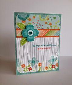 CTMH Blossom Congratulations card