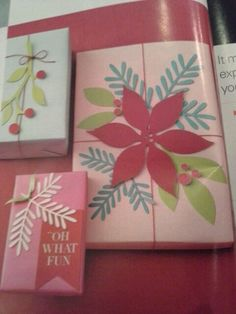 Some interesting ways to wrap gifts.