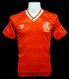 95182b1b780 Holland 1984-87 Home Shirt Retro Football Shirts