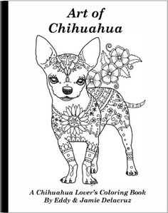 This coloring book consists of 15 hand drawn images of beautiful Chihuahua for you to color. Any watermarks or logos seen on the photos will not appear