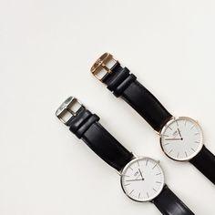 MINIMAL + CLASSIC: 1 gold, 1 silver DW watch