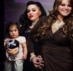 Jenni Rivera, Jaquie and Jayla
