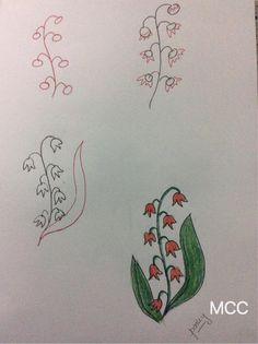 Adım Adım Kolay Çiçek Çizme 17 - Mimuu.com