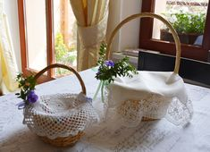 Easter basket ideas. Tradition. Koszyczek Wielkanocny. Wielkanoc. Basket Ideas, Easter Baskets, Straw Bag, Fragrance, Traditional, Holidays, Holiday, Holidays Events, Vacations