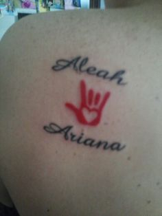 sign language tattoo on pinterest asl tattoo praying hands tattoo and tattoos and body art. Black Bedroom Furniture Sets. Home Design Ideas
