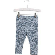 """Bløde bukser med """"sejt"""" print - eksempelvis disse med hunde fra Wheat - st. 56 eller 62."""