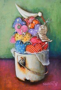 Valencia Van Zil Valencia, Vans, Fine Art, Painting, Painting Art, Paintings, Draw, Van, Visual Arts