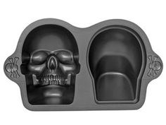 Wilton 3D skull cake pan. I need this!