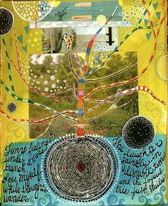 love the slightly klimt-esque influence.  http://www.teeshascircus.blogspot.co.uk/#!http://teeshascircus.blogspot.com/2011/12/4-journal-pages.html