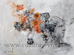 Arte contemporáneo..Técnica mixta.Virola