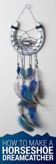 DIY Tutorial: How to Make a Horseshoe Dreamcatcher