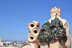 Chimeneas de La Pedrera, Barcelona #lapedrera #barcelona