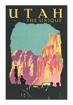 Travel Ads (Vintage Art) Art, Prints, Paintings & Wall Art for Sale Travel Ads, Unique Poster, Retro Poster, Kunst Poster, Vintage Travel Posters, Vintage Art, Vintage Ideas, Retro Art, Unique Art
