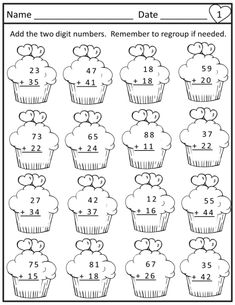 Valentine's Day Math Worksheets-Print and Go 4th Grade Math Worksheets, Printable Math Worksheets, Second Grade Math, Math For Kids, Japanese Language, Spanish Language, French Language, History Education, Teaching History