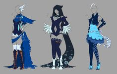 Outfit design - 133-135 - closed by LotusLumino on DeviantArt