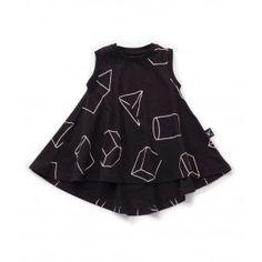 Nununu Geometric 360° Tank Dress - available at www.halfpintshop.com
