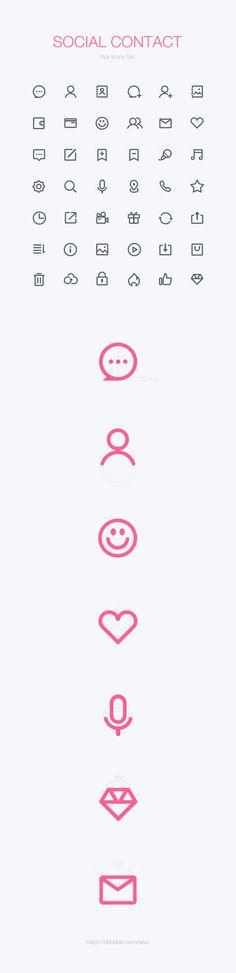 Social contact 6