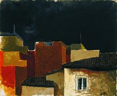 Renato-Guttuso-Tetti-su-via-Leonina-1983-olio-su-tela-60-x-73-cm-800x661.jpg (800×661)
