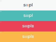 Siiimpl Wordmark Options