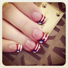 America Nails! Ready for 4th of July! Taylor Nail Spa Huntsville TX!!!