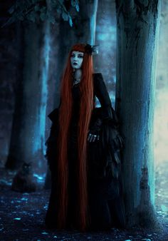 Rapunzel- Darker, less 'Disney princess' Very pale skin because she's been shut away all her life. Hair needs to be gold as corn Dark Gothic, Gothic Art, Gothic Girls, Gothic Steampunk, Victorian Gothic, Dark Beauty, Gothic Beauty, Vampires, Rapunzel