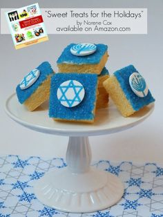 Hanukkah treats, Hanukkah desserts, Sweet Treats for the Holidays book by Norene Cox