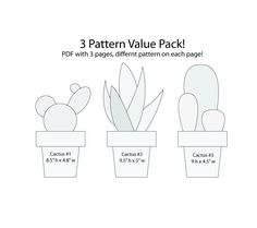 Value Pack - String Art 3 Cactus - Muster / Vorlage, Haus Dekor - The Effective Pictures We Offer You About Cactus craft A quality picture can tell you many things. You can find the most String Art Patterns Letters, String Art Templates, Letter Patterns, String Art Letters, Cactus Pattern, Pattern Art, Decoration Cactus, Hummingbird Art, Paper Embroidery