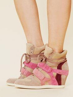 Free People Bea Wedge Sneaker