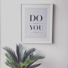 Do What You Love @notonthehighstreet #inspiration #notonthehighstreet @motivated_type #wearenoths #fashionista #typography #homedecor #fashionblogger