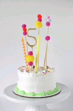 más y más manualidades: Decora un pastel usando toppers