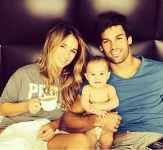 Eric and Jessie James Decker and their adorable daughter