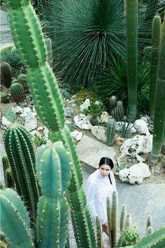 blouse inspired by the cacti garden by ESMOD Berlin student Julia Kjellsson