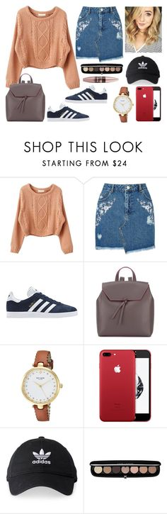 """""""BTS Outfits 2"""" by villa-thoj ❤ liked on Polyvore featuring Miss Selfridge, adidas, Alexandra de Curtis, Kate Spade, Marc Jacobs, Maybelline and BackToSchool"""