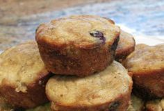 Apple, Banana and Blueberry Paleo Morning Muffins
