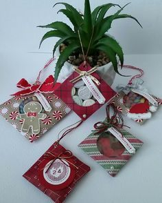 Stampin' Up! Demonstrator stampwithpeg – Envelope Punch Board : Hanging Sweet Treats – Warmth
