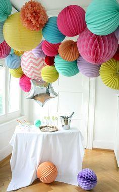 Una idea genial para preparar una fiesta express en casa, ¡nos encanta!