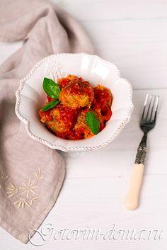 Рецепт: Тефтели из чечевицы (постные)