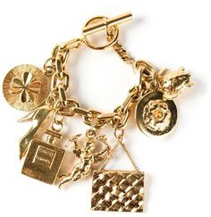 Chanel charms bracelet on shopstyle.com
