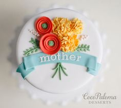 Mother's Day Cake. ©Coco Paloma Desserts