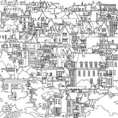 San Francisco Steve McDonalds Colouring Book Fantastic Cities A Of Amazing Places Real And Imagined