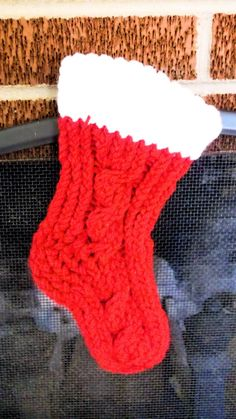 The Loom Muse : How to Loom Knit a Stocking/Bootie