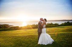 Ocean-inspired Rhode Island real wedding blends cultures, bright colors