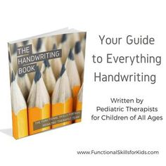 Handwriting is a complicated motor skill that requires dexterity, strength, motor planning skills, and visual memory. Handwriting Books, Handwriting Analysis, Handwriting Practice, Handwriting Activities, Phonics Activities, Motor Activities, Outdoor Activities, Writing Lines, Easy Writing