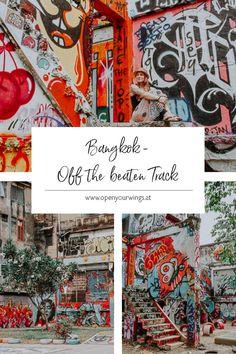Du willst nicht nur die typischen Sights in Bangkok abklappern, sondern die Stadt auch off the beaten track erleben? Dann schau rein! Ko Samui, Chiang Rai, Krabi, Bangkok, Tricks, Travel Inspiration, Thailand, Hotels, Explore